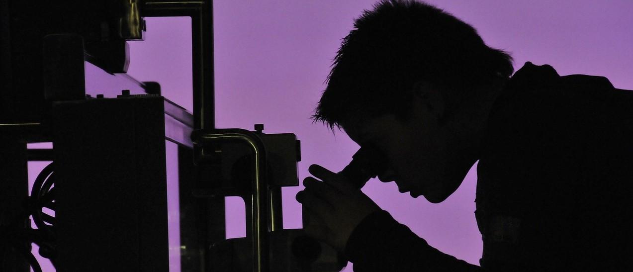 Un chercheur en action