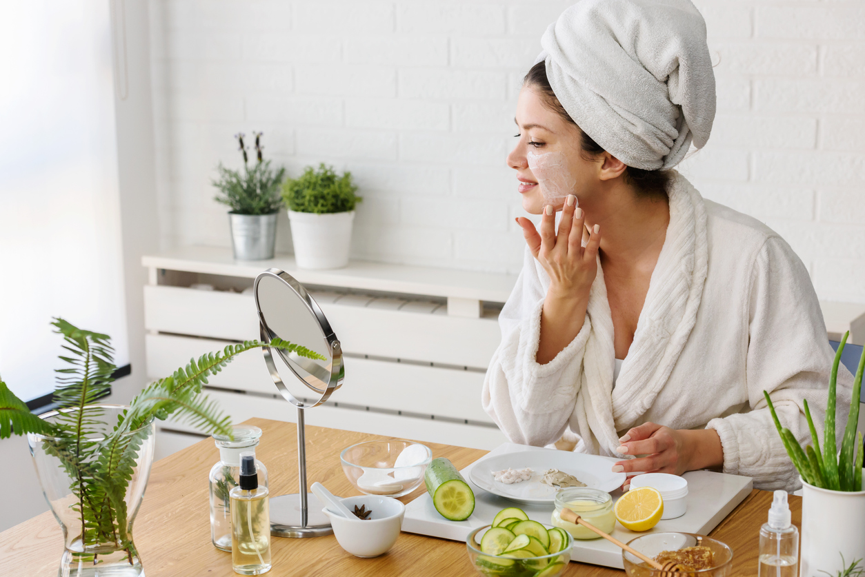 produits naturels pour prendre soin la peau